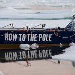 Sea ice row boat