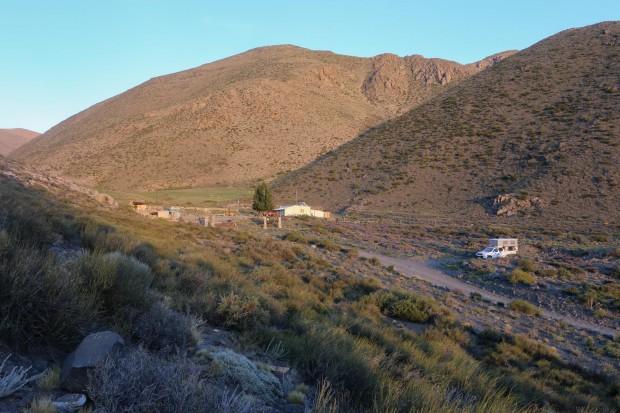 Laguna Del Diamente camp