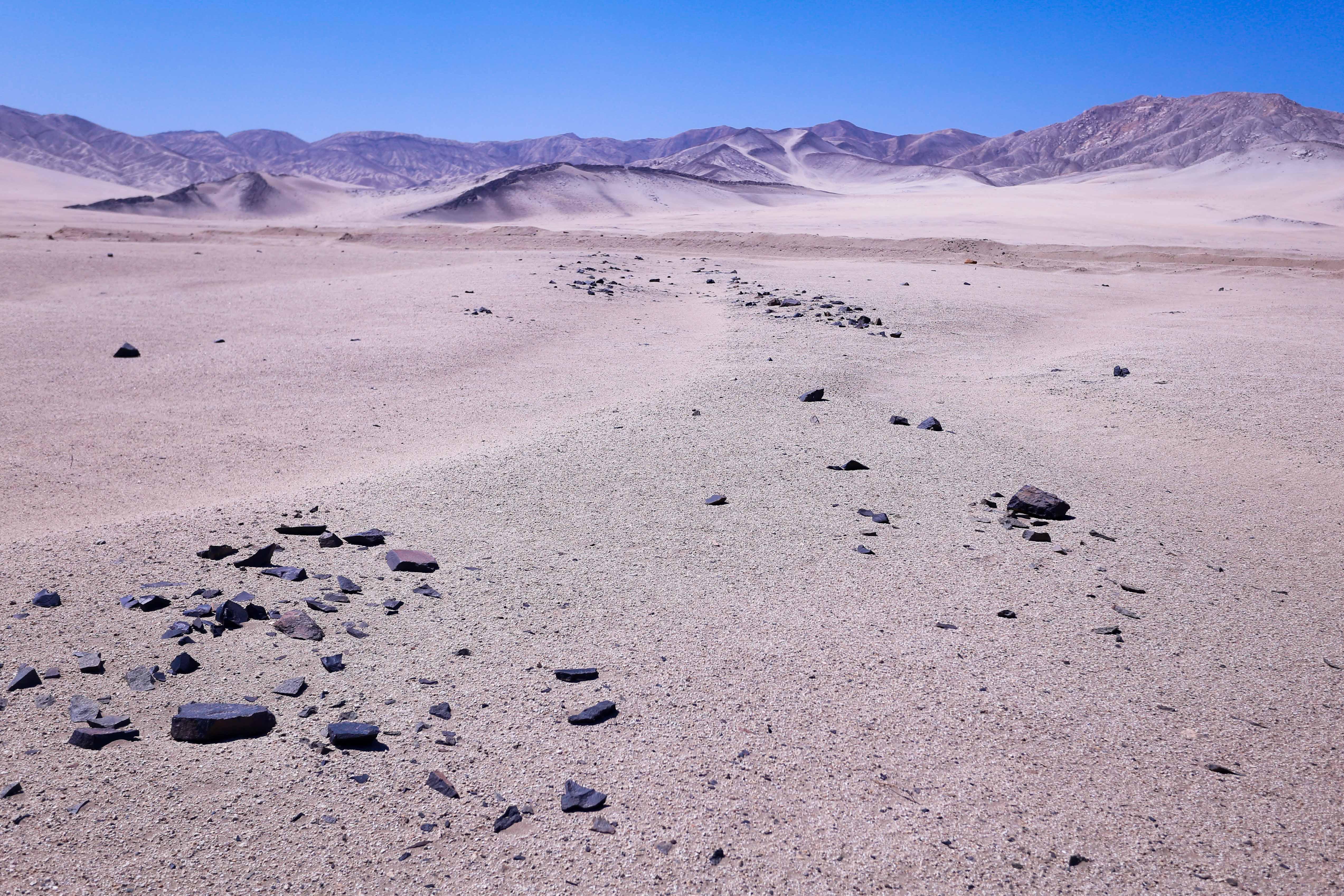 Unos lugares se parecen al planeta Marte