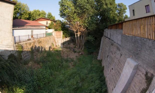 El arroyo en Villa Alemana